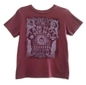 Lucky Brand Ouija Board Graphic T Shirt Size 6